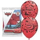 Disney Pixar Cars Balloons, Pack of 6