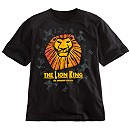 The Lion King Musical Collection Large Logo T-Shirt For Adults