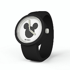 Disney O'Clock Mickey Mouse Black Watch