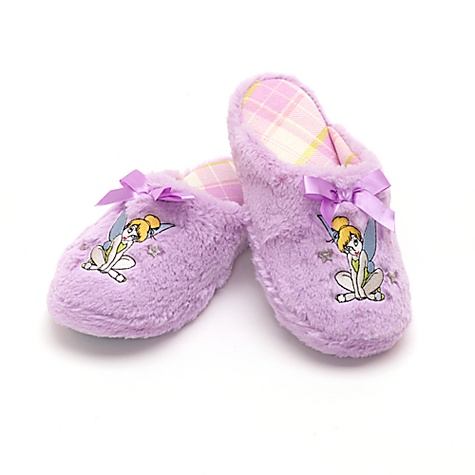Tinker Bell Purple Súper Fluffy Slippers