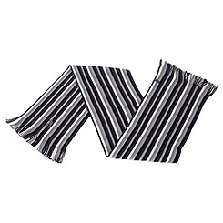 Mickey Mouse Grey Striped Scarf