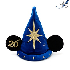 Disneyland Paris 20th Celebration Mickey Mouse Magician Hat