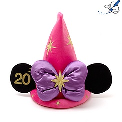 Disneyland Paris 20th Celebration Minnie Mouse Magician Hat