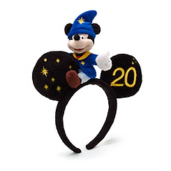 Disneyland Paris 20th Celebration Mickey Mouse Headband