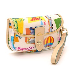 Retro Disneyland Paris 20th Anniversary Clutch Bag By Dooney & Bourke
