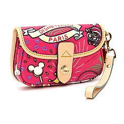 Sketch Pink Clutch By Dooney & Bourke