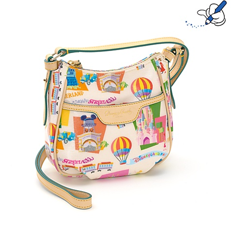Retro Disneyland Paris 20th Anniversary Across Body Bag By Dooney & Bourke