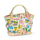 Retro Disneyland Paris 20th Anniversary Tote Bag By Dooney & Bourke