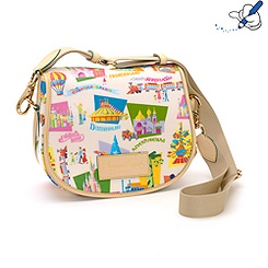 Retro Disneyland Paris 20th Anniversary Satchel Bag By Dooney & Bourke