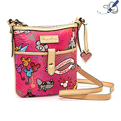 Sketch Pink Across Body Bag By Dooney & Bourke