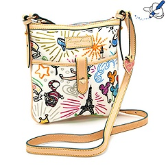 Sketch Across Body Bag By Dooney & Bourke