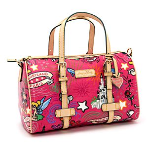 Sketch Pink Barrel Bag By Dooney & Bourke