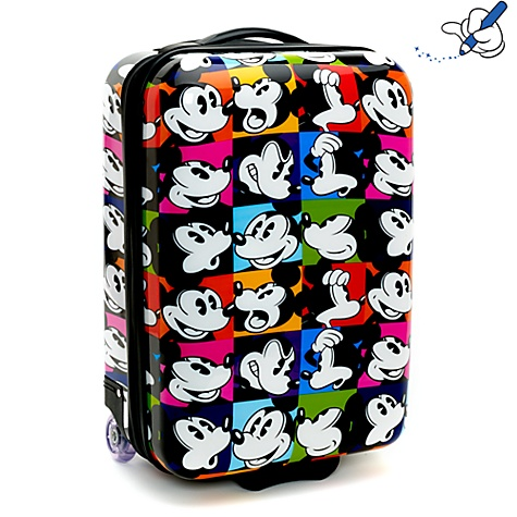 Purple Doughnuts: Mickey Mouse Kids Inspired Travelling Suitcases