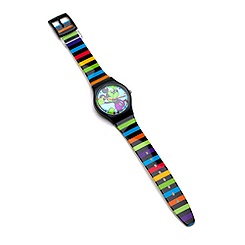 Oh Mickey Striped Girls' Watch