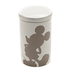 Mickey Mouse Silhouette Medium Storage Jar