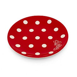 Minnie Mouse Polka Dot Dessert Plate