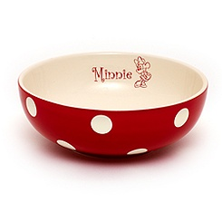 Minnie Mouse Polka Dot Bowl