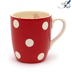 Minnie Mouse Polka Dot Mug
