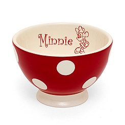Minnie Mouse Polka Dot Mini Bowl
