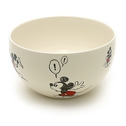 Mickey Mouse Comic Strip Salad Bowl