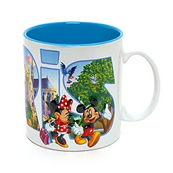 Disneyland Paris White Mug, Paris Collection