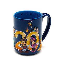 Disneyland Paris 20th Celebration Mug