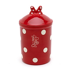 Minnie Mouse Polka Dot Pot With Lid