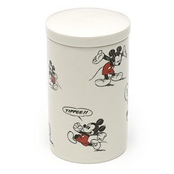 Mickey Mouse Comic Strip Storage Jar
