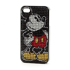 Mickey Mouse Bling Mobile Phone Clip Case