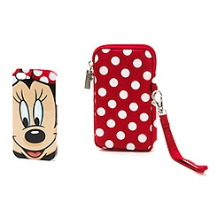 Minnie Mouse Mobile Phone Clip Case and Carry Case Set
