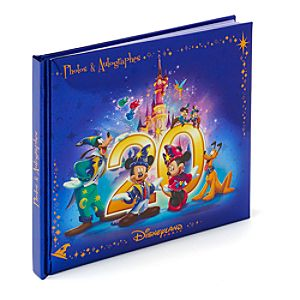 Disneyland Paris 20th Celebration Autograph Book