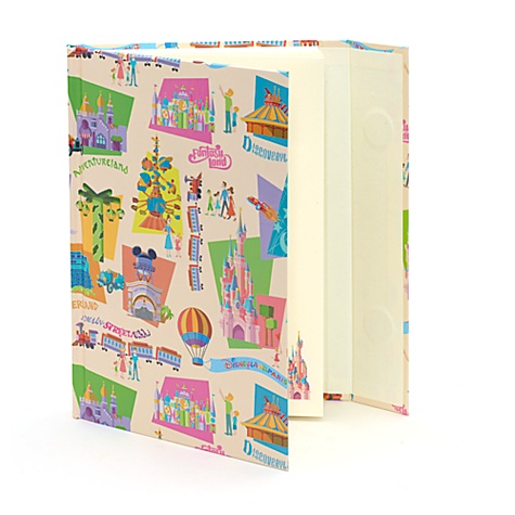 Disneyland Paris Retro Vintage A5 Notebook