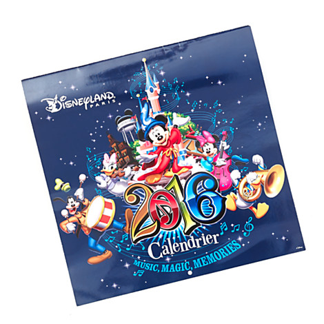 Disneyland Paris 2016 Wall Calendar | Disney Parks Collection ...