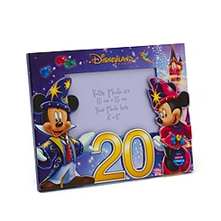 Disneyland Paris 20th Celebration Light Up Photo Frame