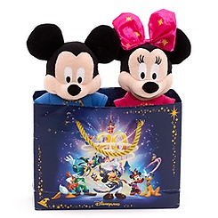 Mickey and Minnie Mouse 20th Anniversary Soft Toys