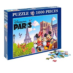 Disneyland Paris Clementoni Puzzle, Paris Collection