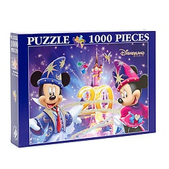 Disneyland Paris 20th Celebration 1000 Piece Puzzle