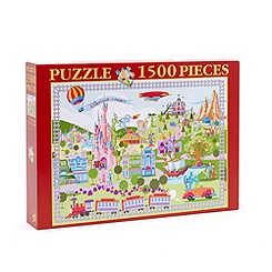 Disneyland Paris 20th Celebration 1500 Piece Retro Puzzle