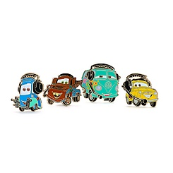 Cars Pin Booster Set