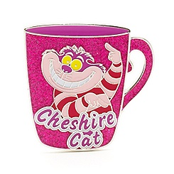 Cheshire Cat Mug Pin