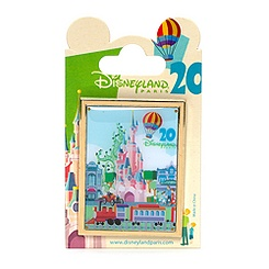 Retro Disneyland Paris 20th Anniversary Pin