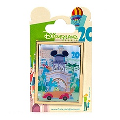 Retro Disneyland Paris 20th Anniversary Monsters Inc. Pin