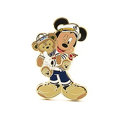 Duffy and Mickey Mouse Pin