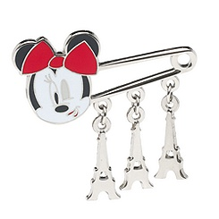 Minnie Mouse Eiffel Tower Pin