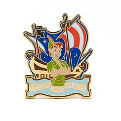 Peter Pan's Flight Pin