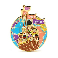 It's A Small World Pin