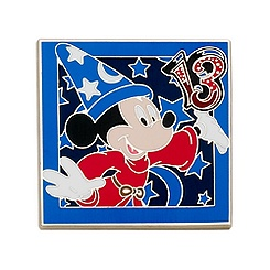 Disneyland Paris 2013 Mickey Mouse Pin