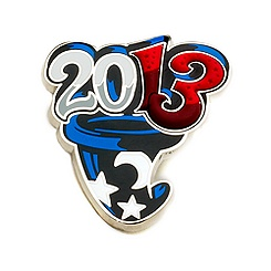 Disneyland Paris 2013 Mickey Hat Pin
