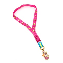 Minnie Mouse Medallion Lanyard