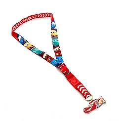 Cars Medallion Lanyard